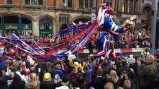 Olympic Parade in Manchester