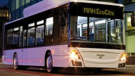 MAN EcoCity bus