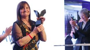 Hillsborough campaigner Margaret Aspinall wins Women of the Year award