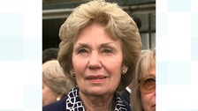 Joan Morecambe, widow of late comedian Eric Morecambe.