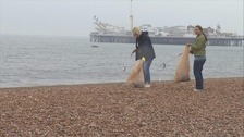 Litter pickers needed to clean up the South's beaches