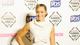 Olympic gold medallist Jessica Ennis.