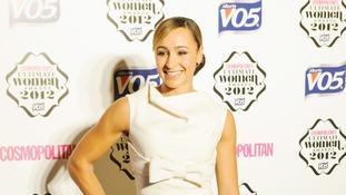 Olympic gold medallist Jessica Ennis.