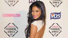 X Factor judge Nicole Scherzinger.