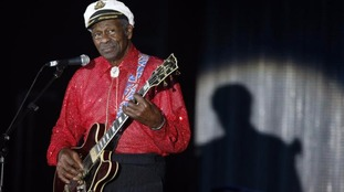 Chuck Berry, 90, releasing first album in 38 years