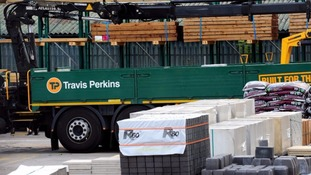 Builders' merchant Travis Perkins has said 600 jobs are at risk as they are closing more than 30 branches.