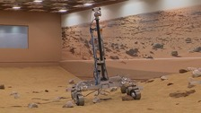 Martian landscape recreated