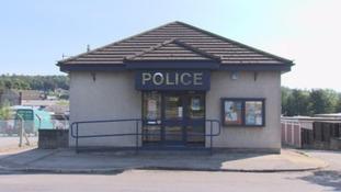 Dalbeattie Police Station.