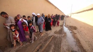 ITV News on the frontline as villages freed in the battle for Mosul