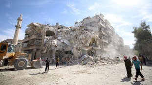 Rockets continue to rain down on blighted Aleppo