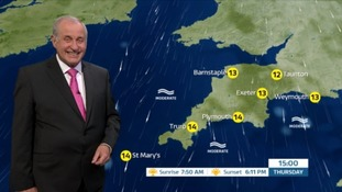 A chilly night ahead for the South West