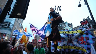 Scotland voted to remain in the UK in 2014
