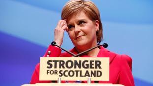 Nicola Sturgeon wants to protect Scotland's European interests