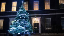 Downing Street Christmas Tree