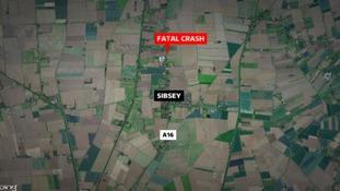 Man dies after fatal crash in Lincolnshire