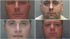 Four North West men on Britain's 'most wanted' list