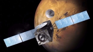 Mars space probe lost after no contact with mission control