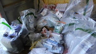 Seaham raids: £8k cash and £10k illegal tobacco goods