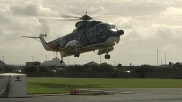 Scilly Helicopter To Take Last Flight Tonight  West Country W  ITV News