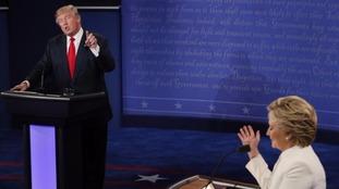 The pair debate in Las Vegas.
