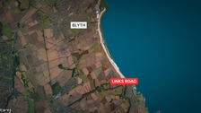The exposure occurred on the A193 Links Road in Blyth