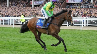 Kauto Star ridden by Ruby Walsh going to post for the Betfred Cheltenham Gold Cup Chase, on Gold Cup Day, during the Cheltenham Festival