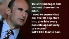 David Moyes 'is the man to rebuild Sunderland' - CEO Martin Bain