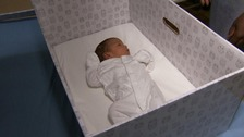 'Baby Boxes' handed out to new parents in the Midlands