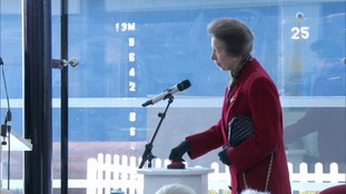 The Princess Royal names the ship