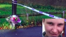 Floral tributes were left to stabbing victim Jodie Wilkinson