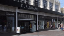 Pensioner died after being locked in Debenhams toilets