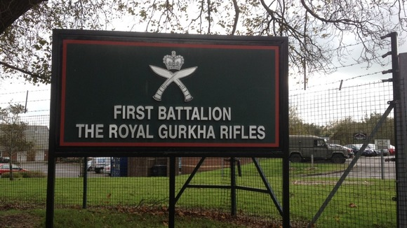 The gurkha barracks 