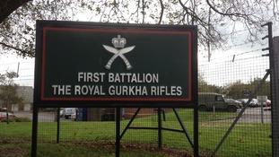 The gurkha barracks