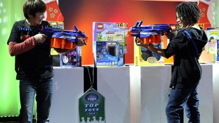 The Nerf N-Strike Elite toy