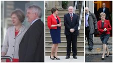 Theresea May, Carwyn Jones, Arlene Foster, Martin McGuinness, Nicola Sturgeon