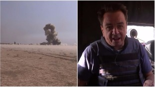 ITV News witnesses ferocious battle for Mosul
