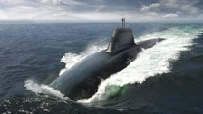 Barrow's new Trident sub to be named HMS Dreadnought