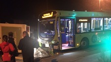 Guided busway crash makes it three in a year