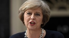Theresa May: Moscow needs 'united message' over Syria