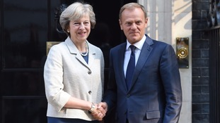 European Council chief Donald Tusk wants Britain to reverse Brexit vote