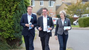 Robert Courts (c) is the new MP for Witney