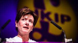 Ukip leader Diane James who retired after just 18 days