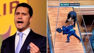 Steven Woolfe collapsed following the altercation.