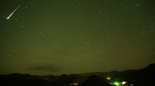 The Orionids Meteor Shower can be seen by the naked eye.