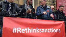 New film prompts protest over benefit sanctions