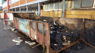 The school roof was being renovated when the fire broke out.