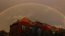 Rainbow over Norwich