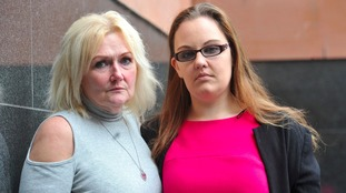 It was Karen's daughter Georgia (right) who persuaded her to go to the police.