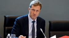 Minister-President of Wallonia Paul Magnette attends a CETA meeting in Belgium.