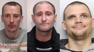 Philip Littleford, Wesley Harper and Michael Watson were all jailed